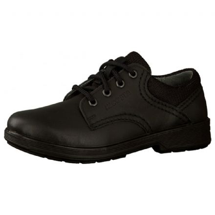 Ricosta HARRY Lace Up Leather School Shoe Widefit (Black)